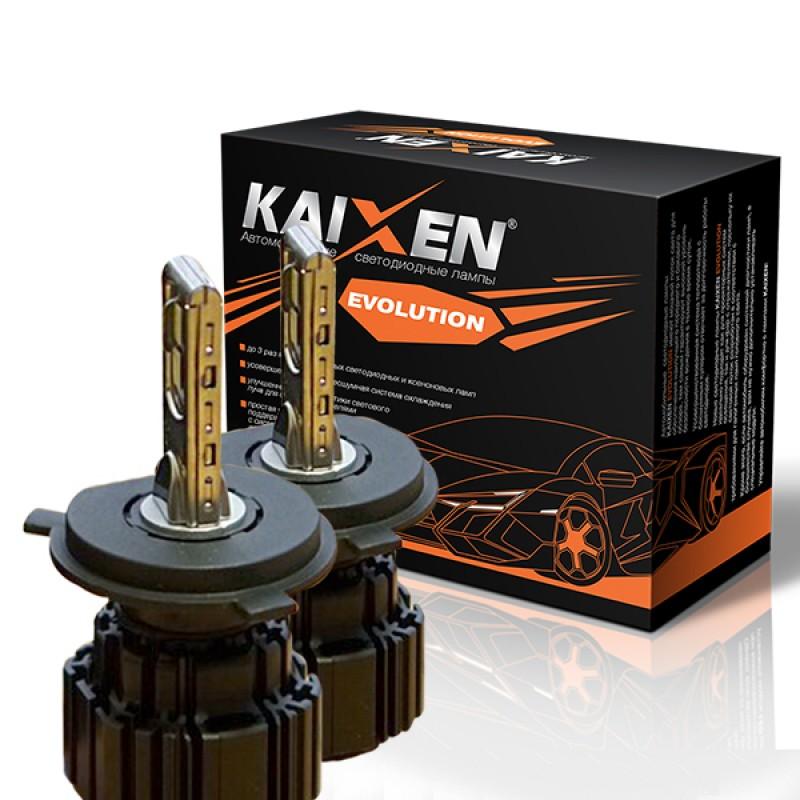 Светодиодные лампы KAIXEN Evolution H4 (50W-6000K)