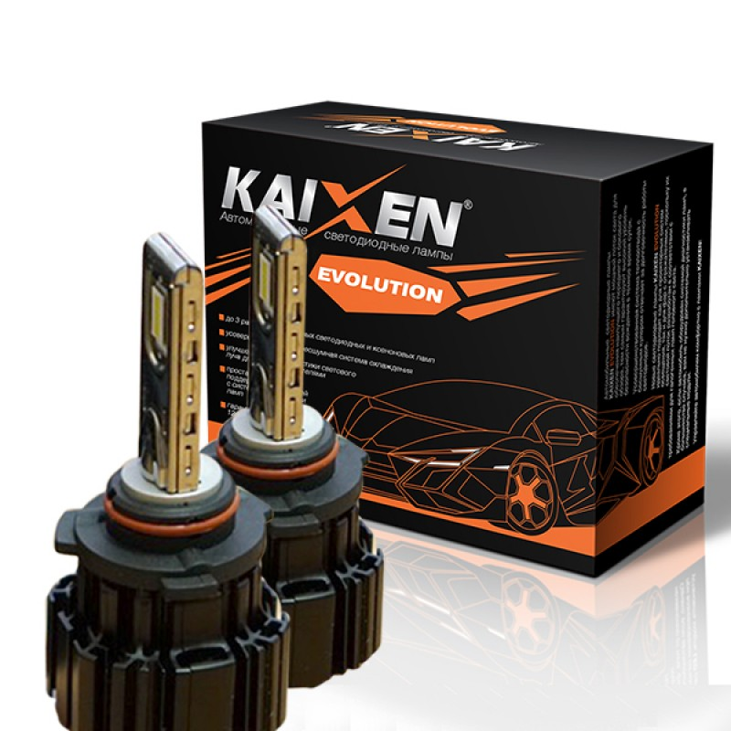Светодиодные лампы KAIXEN Evolution HB4/9006 (50W-6000K)